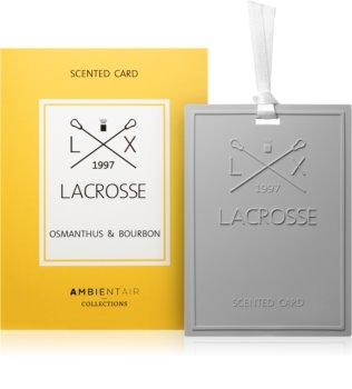 Ambientair Lacrosse Osmanthus & Bourbon luftfrisker til garderoben