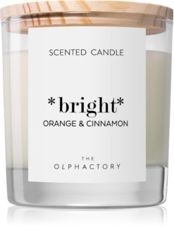Ambientair Olphactory Orange & Cinnamon scented candle (Bright)