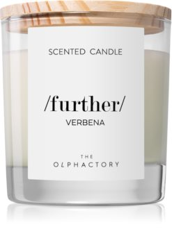 Ambientair Verbena scented candle (Further)