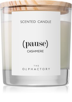 Ambientair Olphactory Cashmere bougie parfumée (Pause)