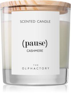 Ambientair Olphactory Cashmere vonná svíčka (Pause)