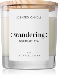 Ambientair Olphactory Goji Black Tea scented candle (Wandering)