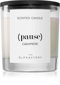 Ambientair Olphactory Black Design Cashmere lumânare parfumată  (Pause)