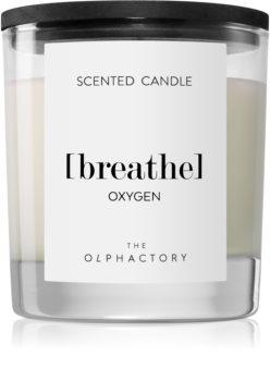 Ambientair Olphactory Black Design Oxygen illatos gyertya  (Breathe)