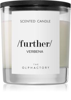 Ambientair Olphactory Black Design Verbena bougie parfumée (Further)