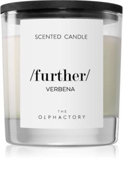 Ambientair Olphactory Black Design Verbena dišeča sveča  (Further)