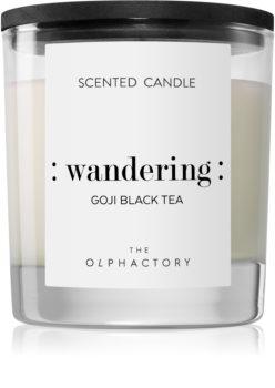 Ambientair Olphactory Black Design Goji Black Tea mirisna svijeća (Wandering)