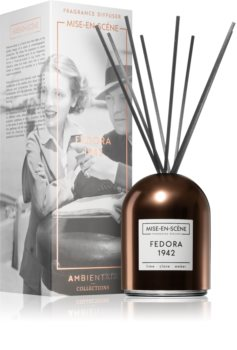 Ambientair Mise-en-Scéne Fedora diffuseur d'huiles essentielles avec recharge