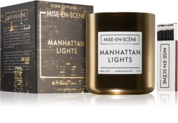 Ambientair Mise-en-Scéne Manhattan Lights lumânare parfumată