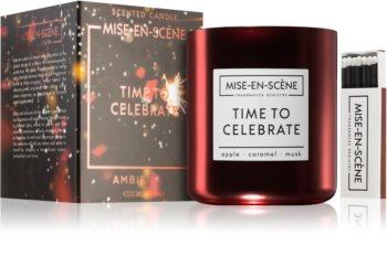 Ambientair Mise-en-Scéne Time to Celebrate lumânare parfumată