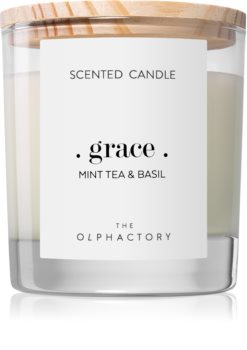 Ambientair Olphactory Mint Tea & Basil lumânare parfumată  (Grace)