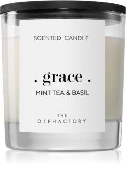 Ambientair Olphactory Mint Tea & Basil illatos gyertya