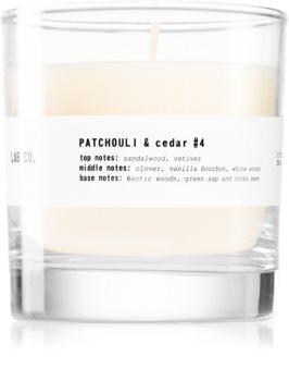 Ambientair Lab Co. Patchouli & Cedar lumânare parfumată