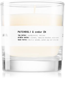 Ambientair Lab Co. Patchouli & Cedar scented candle