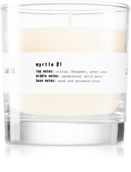 Ambientair Lab Co. Myrtle scented candle