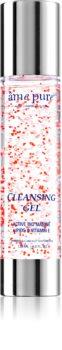 âme pure Cleansing Gel tisztító gél az arcbőrre pórusok kitisztításáért és a matt bőrért