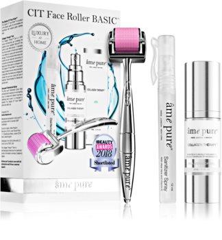 âme pure CIT Face Roller Basic ensemble (anti-pores dilatés et rides)