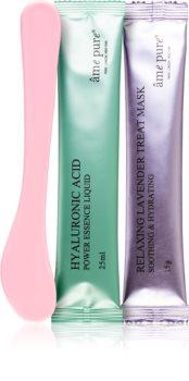 âme pure Jelly Glow Rubber Mask™ Lavender slupovací gelová maska se zklidňující účinkem