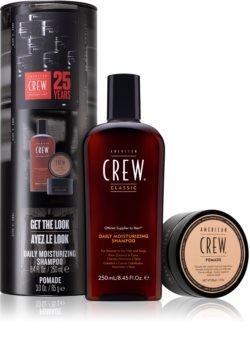 American Crew Hair & Body Daily Moisturizing Shampoo ajándékszett (minden hajtípusra) uraknak
