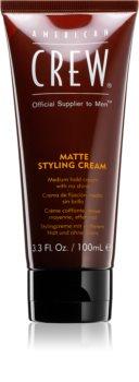 American Crew Styling Matte Styling Cream gel za lase za mat videz