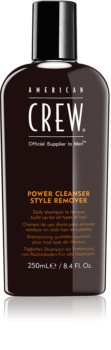 American Crew Hair & Body Power Cleanser Style Remover shampoo detergente per uso quotidiano