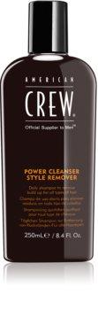 American Crew Hair & Body Power Cleanser Style Remover tisztító sampon mindennapi használatra