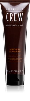American Crew Styling Light Hold Styling Gel gel de cabelo fixação ligeira