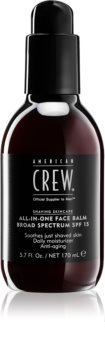 American Crew Shave & Beard ALL-IN-ONE Face Balm Broad Spectrum SPF 15 After Shave Balsam LSF 15