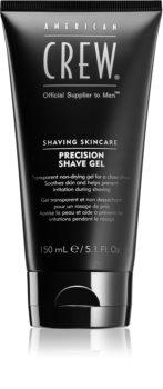 American Crew Shave & Beard Precision Shave Gel gel per rasatura per pelli sensibili