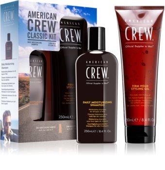 American Crew Classic kozmetika szett VII. (minden hajtípusra) uraknak