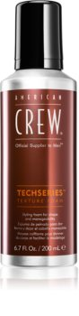 American Crew Styling Techseries mousse styling per modellare e definire l'acconciatura