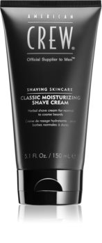American Crew Shave & Beard Classic Moisturizing Shave Cream crema per rasatura alle erbe