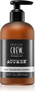 American Crew Acumen șampon pentru utilizare zilnică pentru par fin si subtiat