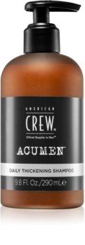 American Crew Acumen shampoing usage quotidien pour cheveux fins ou clairsemés