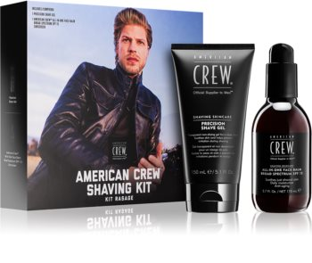 American Crew Shave & Beard Shaving Kit Cosmetica Set