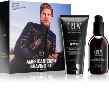 American Crew Shave & Beard Shaving Kit козметичен комплект