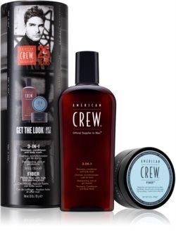 American Crew Hair & Body 3-IN-1 dárková sada (na vlasy a tělo) pro muže