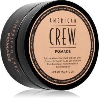 American Crew Styling Pomade pomada de cabelo com alto brilho