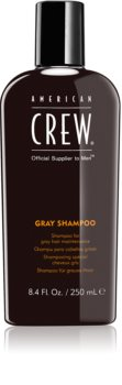American Crew Hair & Body Gray Shampoo champô para cabelo cinzento