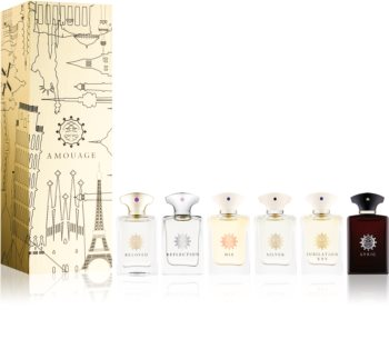 Amouage Miniatures Bottles Collection Men Geschenkset X. für Herren