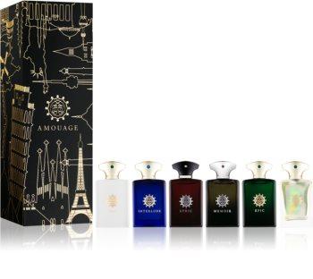 Amouage Miniatures Bottles Collection Men darčeková sada I. pre mužov