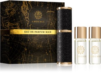 Amouage Lyric Eau de Parfum (1x uudelleen täytettävä + 3x täyttöpakkaus) Miehille