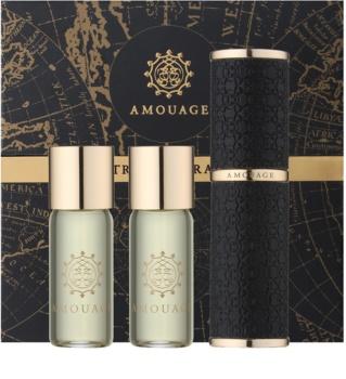 Amouage Epic Eau de Parfum (1x Uudelleen Täytettävä + 2x Täyttöpakkaus) Miehille