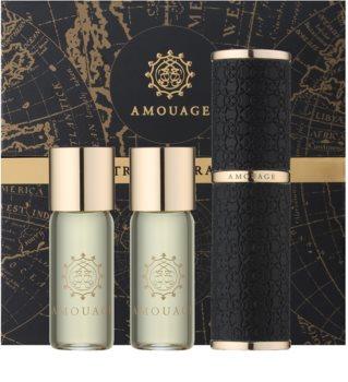Amouage Epic eau de parfum (1x vap.recarregável + 2 x recarga) para homens