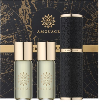 Amouage Epic woda perfumowana (1x napełnialny + 2x napełnienie) dla mężczyzn
