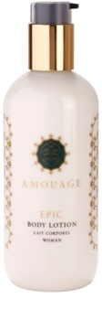 Amouage Epic leite corporal para mulheres