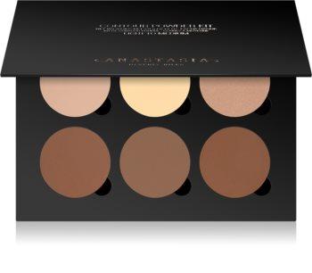 Anastasia Beverly Hills Contour Kit Púderes highlight és kontúr paletta