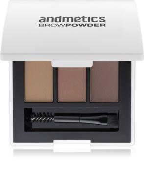 andmetics Brows poudre sourcils
