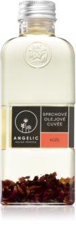 Angelic Shower Oil Cuvée Rose zvláčňující sprchový olej