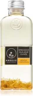 Angelic Shower Oil Cuvée Calendula and melissa Nourishing Shower Oil